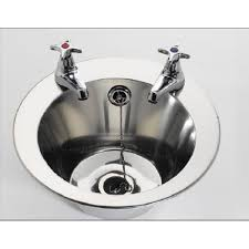 Fitmykitchen Finrth Round Inset Basin Sink Mm Diameter - Round sinks kitchen