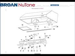 broan rangehood power switch replace model 643001 youtube