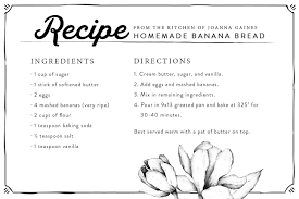 fresh banana bread joanna gaines banana bread and magnolia