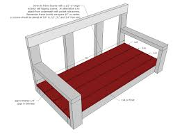 ana white shanty2chic porch swing diy projects
