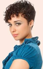 shortest hairstyle ever very short curly hairstyles pinteres