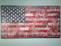Miss Me American Flag David Nichols Revelry Boutique Gallery