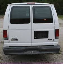 2007 ford econoline e350 extended cargo van item f2635 s