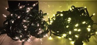 Led Light Bulb Vs Incandescent by Led Vs Incandescent Mr Christmas Lights