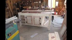 How To Build A Movable Kitchen Island Kitchen Island Making From Cabinets Build Youtube Wall Out Of A