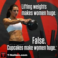 Woman Lifting Weights Meme - lifting weights makes women huge false testosterone nation