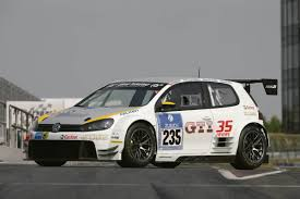 volkswagen race car volkswagen golf24 races at nurburgring 24 hours news and pictures