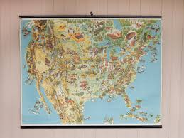 Old United States Map by Original Old Map Of The United States Sold Scaramanga