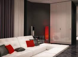 black white and red living room decor beautiful pictures photos