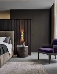 Wall To Wall Wardrobes In Bedroom Black Wardrobe Gives The Bedroom A Male Touch U2013 Fresh Design Pedia