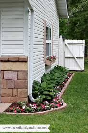 side yard makeover creating curb appeal love of family u0026 home