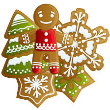 image gallery of christmas cookies clipart