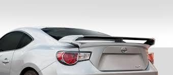 subaru spoiler 2014 2015 scion fr s subaru brz duraflex w 1 rear wing trunk lid