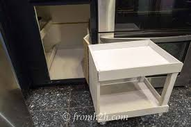 diy blind corner cabinet how to build pull out shelves for a blind corner cabinet part 1