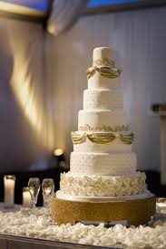 wedding cake layer cakes desserts photos 7 tier gold white wedding cake
