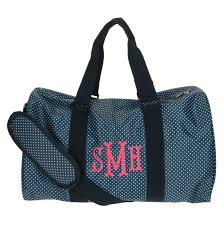 bridesmaids bags monogram backpack duffel bag lunch box set monogram duffel