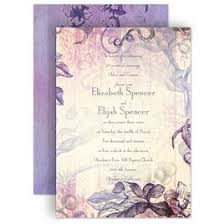 lavender wedding invitations vow renewal invitations invitations by