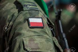 Military Flag Patch Flag Patch On Polish Soldier Uniform Stock Photo Picture And