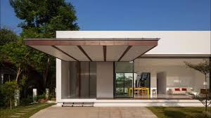 modern balcony of contemporary glass house youtube