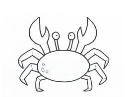 drawn crab cartoon pencil and in color drawn crab cartoon