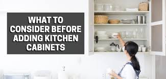 how to install your own cabinets what to consider before adding kitchen cabinets handyman