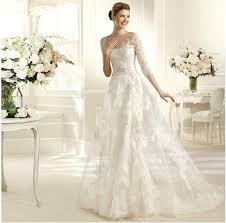 2014 new white ivory lace a line wedding dress size 4 6 8 10 12 14