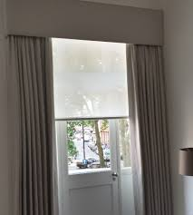 roller blinds and curtains rooms