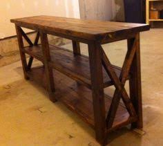 West Elm 2x2 Console Desk How To Oxidize New Wood For A More Rustic Look Crafty Ideas