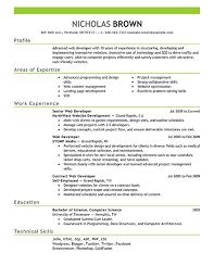Sample Net Developer Resume by Impressive Ideas Web Developer Resume Template 15 Sample Writing