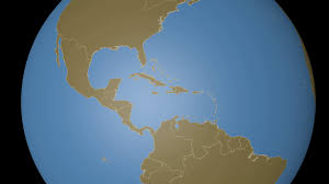 World Map Cuba by Cuba Extruded On The World Map With Administrative Borders Solid