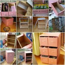 cara membuat lemari buku dari kardus bekas 101 kreasi unik dari kardus bekas inspirasi kehidupan