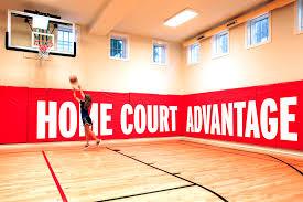 decoration amazing home basketball court design backyard courts