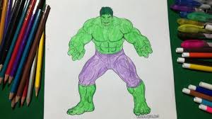 hulk coloring fun kids coloring book for kids learning colour