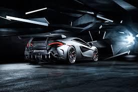 bentley vorsteiner mclaren 570s aero rear bumper w rear diffuser vorsteiner nero