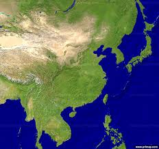 asia east map primap continental maps