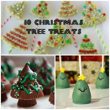 10 cute christmas tree treats
