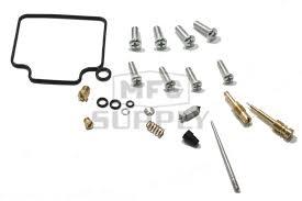 complete atv carburetor rebuild kit for 88 90 honda trx300