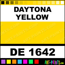 daytona yellow engine enamel paints de 1642 daytona yellow