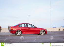 cars bmw red red car bmw 3 series to drift editorial image image 64451520