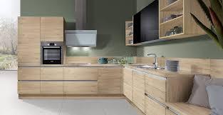 küche eiche hell schröder küchen küche ohne griffe fenix glv schwarz