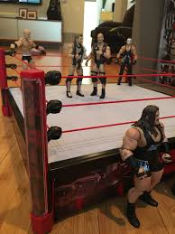 fun with new mattel elite scale main event ring wrestlingfigs