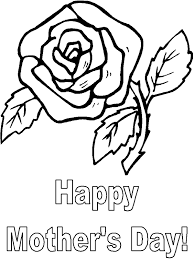 coloring pages mothers day flowers mother s day flower coloring page coloring book