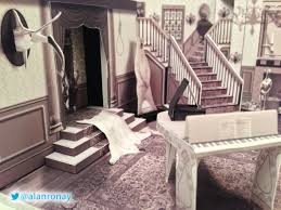 Addams Family Mansion Floor Plan A Papercraft Model Of The Interior Of U0027the Addams Family U0027 Mansion