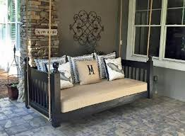 Swinging Bed Frame Porch Bed Home Hanging Porch Beds Swinging Porch Beds
