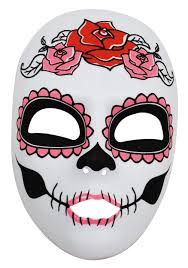 halloween spirit masks womens day of the dead full face mask