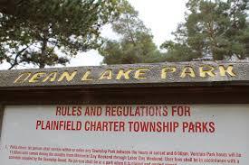 Michigan Dnr Burn Permit Map by Dean Lake Park Plainfield Charter Township
