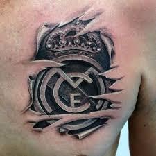 60 real madrid tattoo designs for men soccer ink ideas