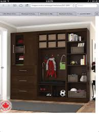 love this mud room storage unit from costco spare room