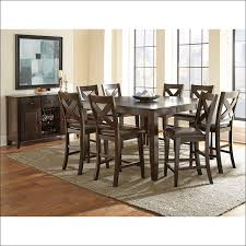kitchen table sets bar height simple wooden dining set with table