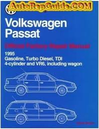download free volkswagen passat official service manual 1995